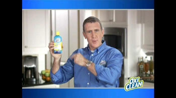 OxiClean Dishwashing Booster TV Spot Featuring Anthony Sullivan - Thumbnail 4