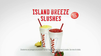 Sonic Drive-In TV Spot, 'Island Breeze Slushes' - Thumbnail 10