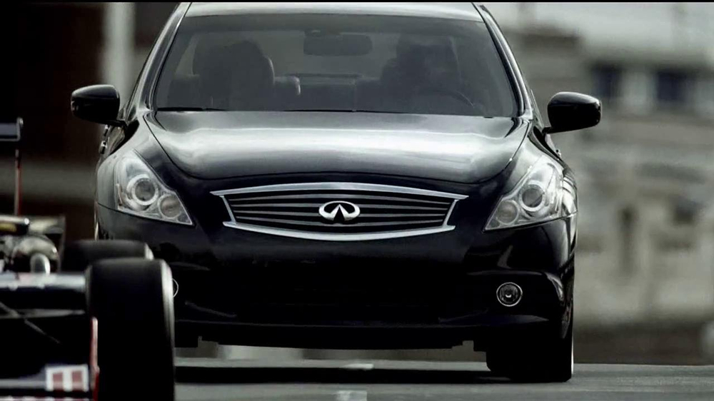 infiniti  tv commercial race directions ispottv