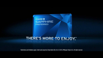 Chase Sapphire Preferred TV Spot, 'Dining' - Thumbnail 10