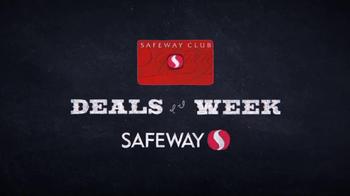 Safeway Deals of the Week TV Spot, 'Grapes, Starbucks and Tropicana' - Thumbnail 1