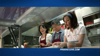 Progressive TV Spot For Commercial Auto Featuring Flo - Thumbnail 9