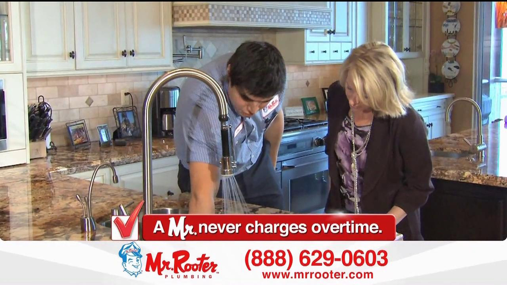 Mr. Rooter Plumbing TV Commercial For Mr. Rooter
