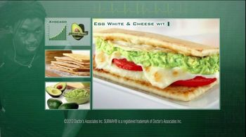 Subway TV Spot For Egg & Cheese With Avocado Feat. Mike Lee - 2 commercial airings
