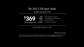 Mercedes-Benz C250 Sport TV Spot - Thumbnail 10
