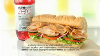 Subway TV Spot For Vitaminwater Zero - Thumbnail 6