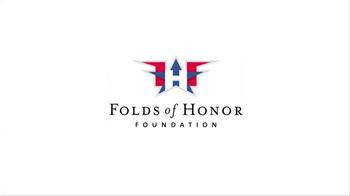 Folds of Honor Foundation TV Spot Featuring Major Dan Rooney - Thumbnail 1