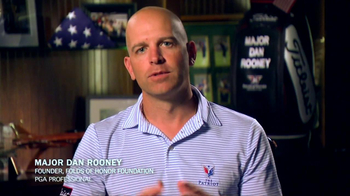 Folds of Honor Foundation TV Spot Featuring Major Dan Rooney