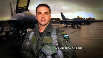 Folds of Honor Foundation TV Spot Featuring Major Dan Rooney - Thumbnail 5