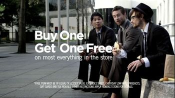 Men's Wearhouse Buy One Get One Free TV Spot, 'What Suits You' - 83 commercial airings