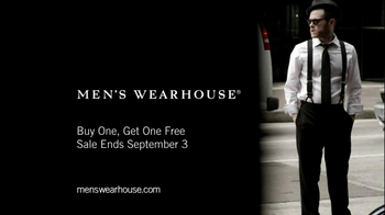 Men's Wearhouse Buy One Get One Free TV Spot, 'What Suits You' - Thumbnail 10