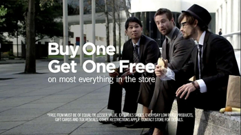 Men's Wearhouse Buy One Get One Free TV Spot, 'What Suits You' - Thumbnail 5