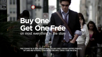 Men's Wearhouse Buy One Get One Free TV Spot, 'What Suits You' - Thumbnail 6