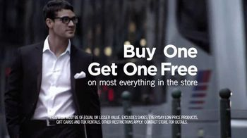 Men's Wearhouse Buy One Get One Free TV Spot Featuring George Zimmer