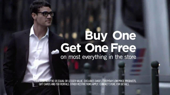 Men's Wearhouse Buy One Get One Free TV Spot Featuring George Zimmer - Thumbnail 5