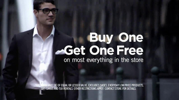 Men's Wearhouse Buy One Get One Free TV Spot Featuring George Zimmer - Thumbnail 6