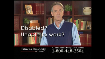 Citizens Disability Helpline TV Spot For Disability - Thumbnail 1