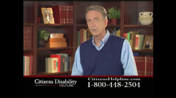 Citizens Disability Helpline TV Spot For Disability - Thumbnail 2