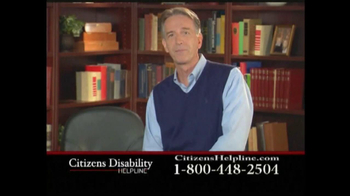 Citizens Disability Helpline TV Spot For Disability - Thumbnail 3