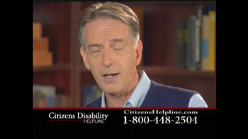 Citizens Disability Helpline TV Spot For Disability - Thumbnail 6