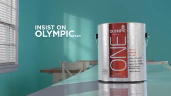 Olympic One TV Spot 'Blue Paint and Primer In One'