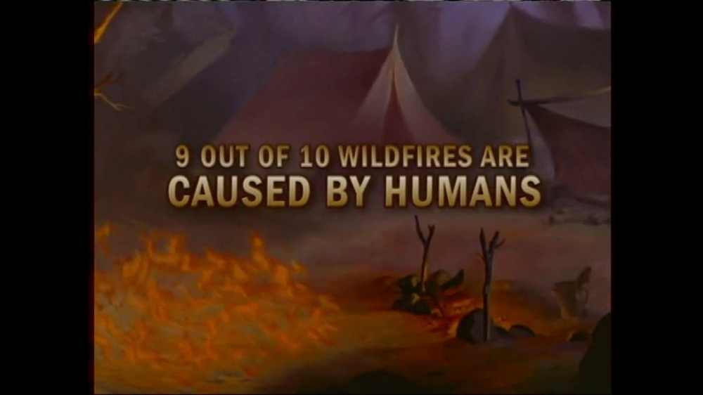 Smokey Bear TV Commercial, 'Bambi and Friends'
