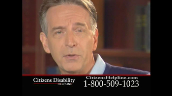 Citizens Disability Helpline TV Spot For Receive Benefits - Thumbnail 10