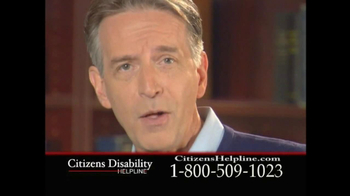 Citizens Disability Helpline TV Spot For Receive Benefits - Thumbnail 5