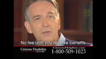 Citizens Disability Helpline TV Spot For Receive Benefits - Thumbnail 7
