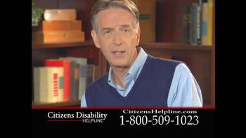 Citizens Disability Helpline TV Spot For Receive Benefits - Thumbnail 9