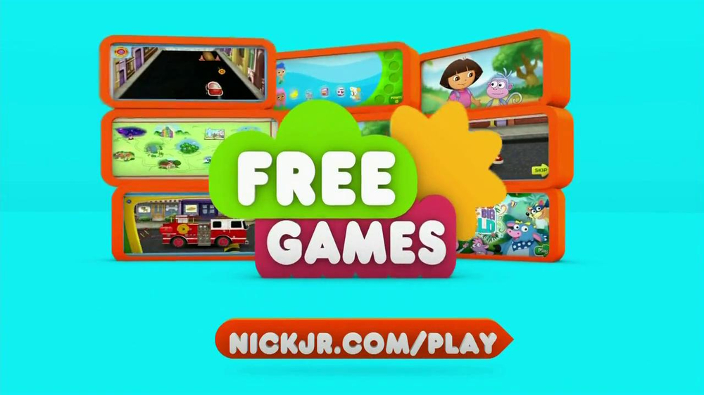 Nickelodeon TV Commercial For Nick Jr com - Video