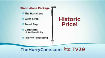 The HurryCane TV Spot For Stand Alone - Thumbnail 6