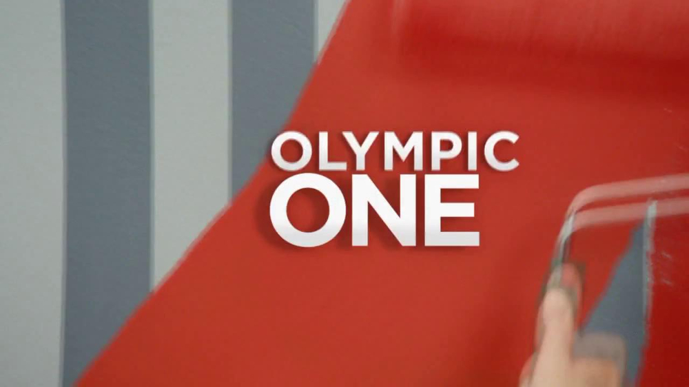 Olympic One Tv Commercial Red Paint And Primer In One