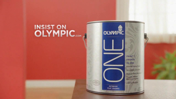 Olympic One TV Spot 'Red Paint and Primer In One'