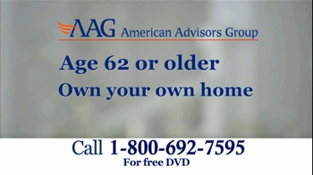 American Advisors Group TV Spot, 'Reverse Mortgage DVD' - Thumbnail 4