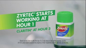Zyrtec TV Spot for Powerful Allergy Relief - Thumbnail 4