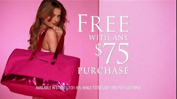 Victoria's Secret TV Spot For Limited Editon Getaway Bag - 6 commercial airings