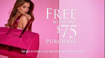 Victoria's Secret TV Spot For Limited Editon Getaway Bag - Thumbnail 5
