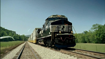 Norfolk Southern Corporation TV Spot For Connection - 76 commercial airings