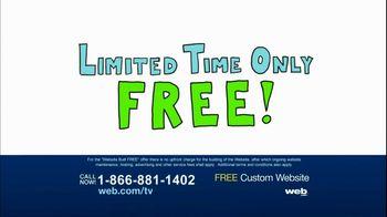 Web.com TV Spot For Free Custom Website