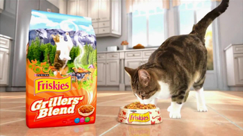Friskies TV Spot For Grillers\' Blend