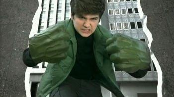 Marvel Avengers The Hulk Gamma Green Smash Fists TV Spot, 'The Power'