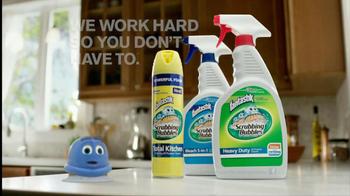 Scrubbing Bubbles TV Spot, 'Tough Greasy Messes' - Thumbnail 10