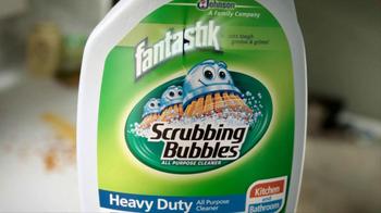 Scrubbing Bubbles TV Spot, 'Tough Greasy Messes' - Thumbnail 5