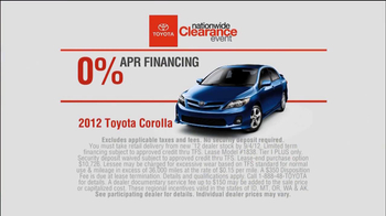 Toyota Nationwide Clearance Event TV Spot, 'Coffee Shop' - Thumbnail 6