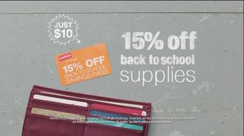 Staples TV Spot For Back-To-School Savings Pass - Thumbnail 7