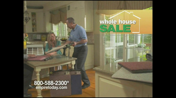 Empire Today TV Spot For Whole House Sale