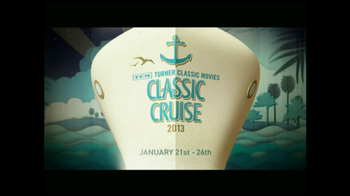 Turner Classic Movies (TCM) Network TV Spot For TCM Classic Cruise