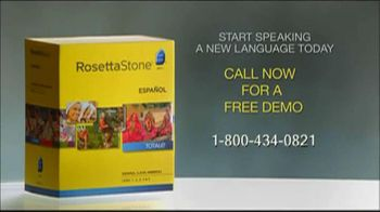 Rosetta Stone TV Spot For More Than Words