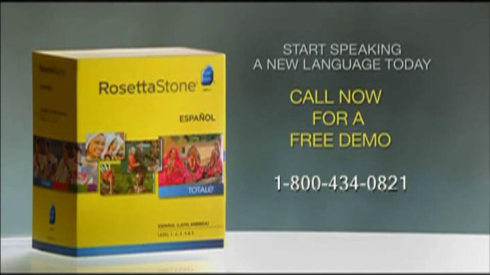 Rosetta Stone TV Commercial For More Than Words - Video